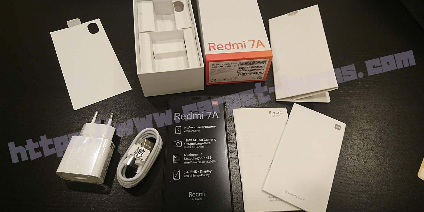 Xiaomi Redmi 7A開封