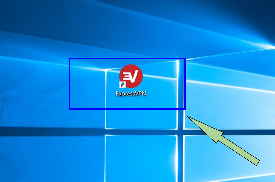 ExpressVPNショートカットアイコン